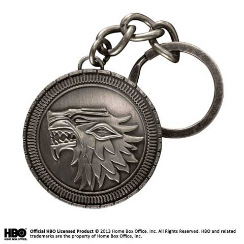 Game of Thrones - porte-clés Stark