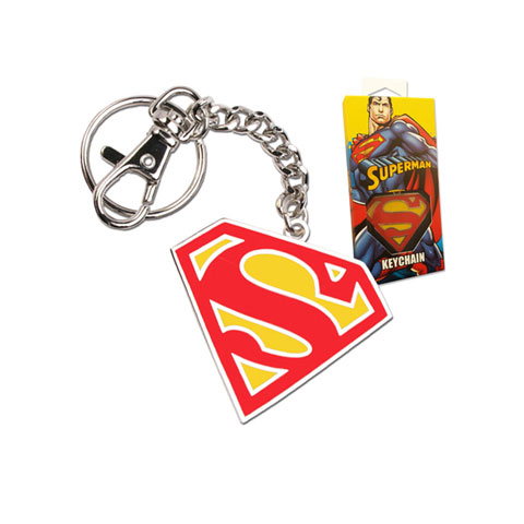 Porte-cles Logo Superman en couleur