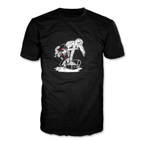 Ravenshood Manor - T-shirt - Bartholomew et son coffre