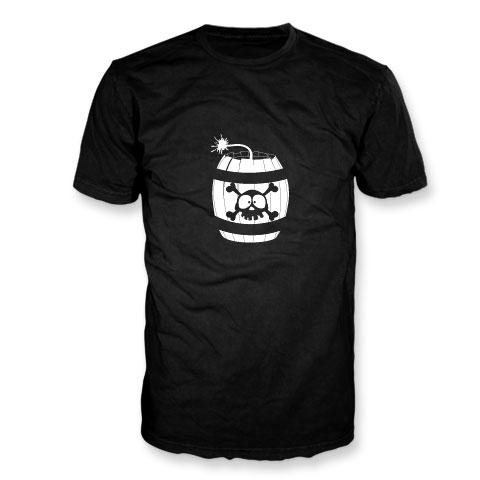 Et si Jack était... allumé - T-Shirt noir phosphorescent