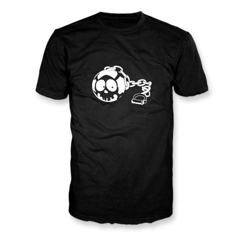 Et si Jack était... un boulet - T-Shirt noir phosphorescent