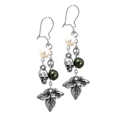 Poison Ivy - Boucles d'oreilles