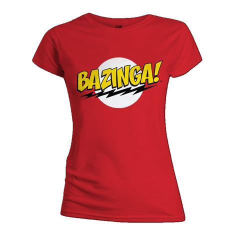 T-shirt Bazinga coupe Femme