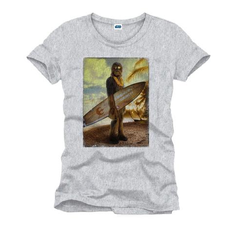 T-shirt Surfin' Chewie