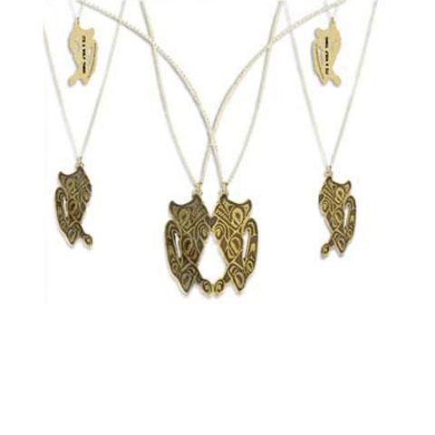 Twilight - Collier double Symbole Quileute
