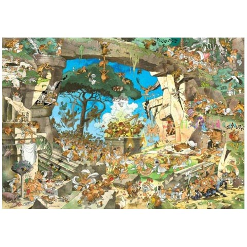 Puzzle - Satyrs - Guiseppe Calligaro - 1000 pièces