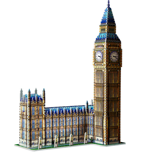 Big Ben - puzzle 3D Wrebbit