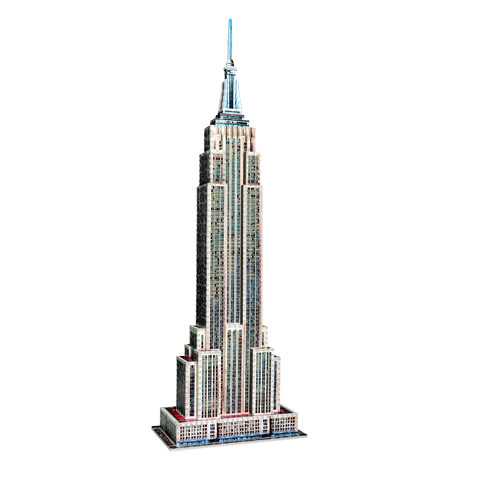 Empire State Building - puzzle 3D Wrebbit