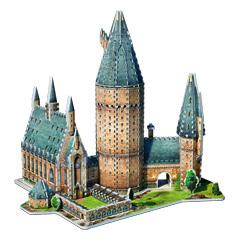 Poudlard - Grande salle - puzzle 3D Wrebbit