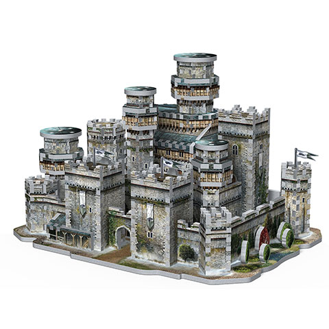 Winterfell - Game of Thrones - puzzle 3D Wrebbit