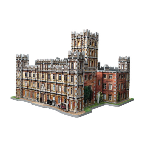 Château de Downton Abbey - puzzle 3D Wrebbit
