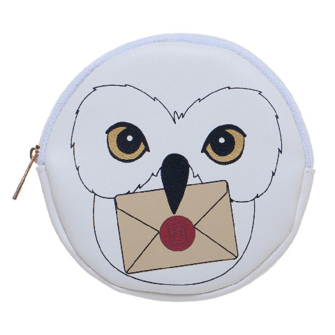 Porte-monnaie zip Hedwige - Harry Potter