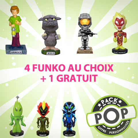 P.O.P Figurines Dessins Animés