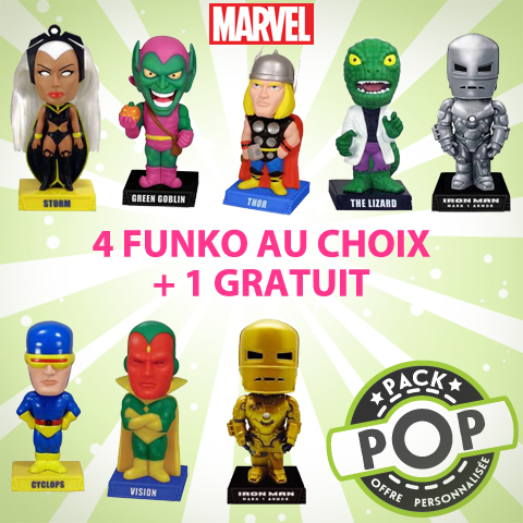 P.O.P Figurines Marvel