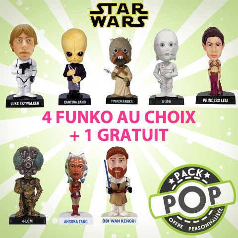 P.O.P Figurines Star Wars