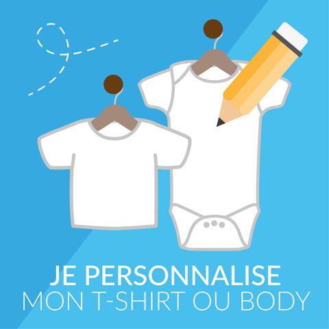 Je personnalise mon T-shirt et body