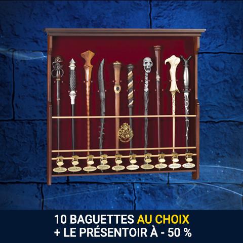Pack 10 baguettes et son présentoir