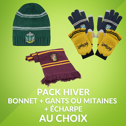 Pack Hiver Harry Potter