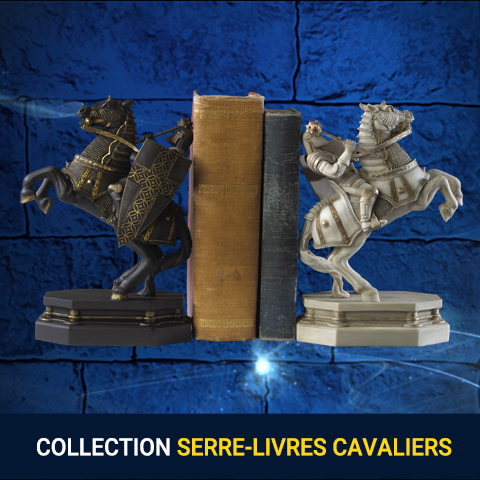 Pack serre-livres cavaliers